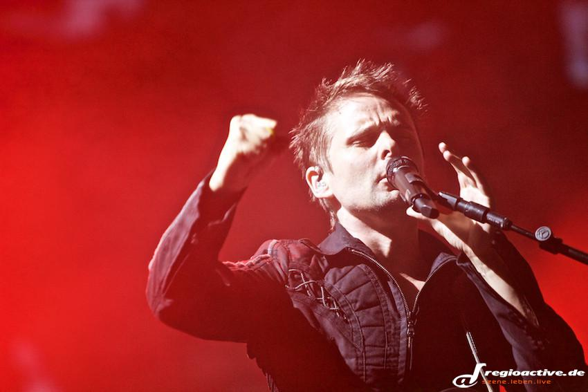 Muse (live beim Lollapalooza 2015 in Berlin)
